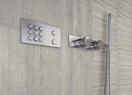 Cemento / Cassero Grigio / 60x120 + Listelli Grigio / 30x30