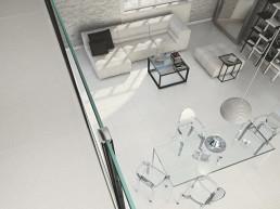 Spazio / Bianco / 60x60