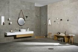 Gris Fleury / Taupe / 30x120 / 60x120 + Bianco / 30x120