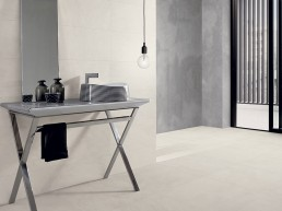 Silver Stone / Ivory / 60x60 / 30x60