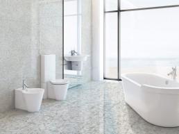 Venezia / Bianco / 60x120 + Palladio / 60x120