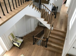 Engineered oak staircase