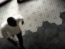 Heritage / Esagono Fiore / 21,6x25