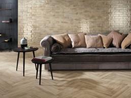 Brickell / Beige / Floor Matt 7,5x60 + Wall Gloss 7,5x30