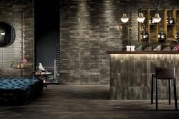 Brickell / Brown / Floor Matt 7,5x60 + Wall Gloss 7,5x30