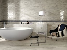 Brickell / White / Floor Matt 7,5x60 + Wall Gloss 7,5x30