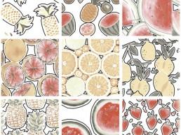 Carpen Fridda / Fridda Fruits / 30x30