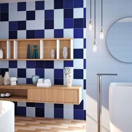 Carpio / Azul Manises + Azul-c + Azul-f / 20x20