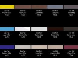 Liso Flat / 10x30 / Colours 1