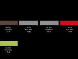 Liso Flat / 10x40 / Colours 2