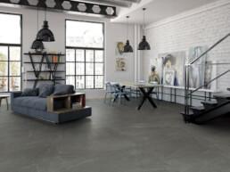 Damstone / Charcoal / 45x90 / matt