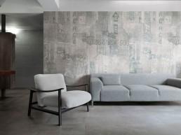 Graffiti / Antracite / 60x60