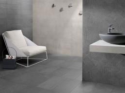 Silver Stone / Graphite Mix / 60x60 / 30x60 / 15x60