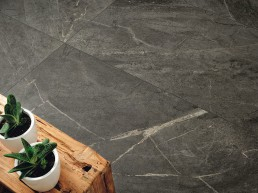 Soap Stone / Black / 75x150