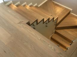 Engineered oak staircase