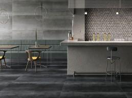 Met-All / Grey + Black / 75x150