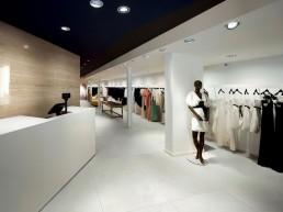 Prestigio / Carrara Matt / 75x150 + Travertino Lucido / 75x150