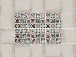 Elegant / Mosaica Ejemplo de Colocacion / 20x20