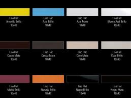 Liso Flat / 10x40 / Colours 1