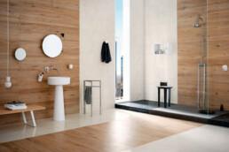 Allmarble / Altissimo Silk / 30x120 + 60x120 / Saint Laurent Strutturato / 60x120
