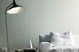 Allmarble / Travertino / 30x120 + Lasa Mosaico / 30x30